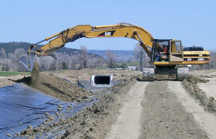 Culvert Drainage Improvements Montana Contractor